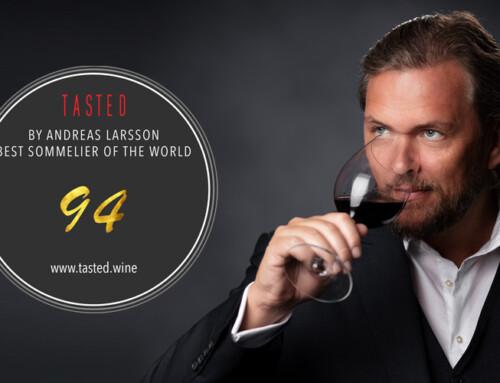Magníficas puntuaciones de nuestros vinos por parte de Andreas Larsson